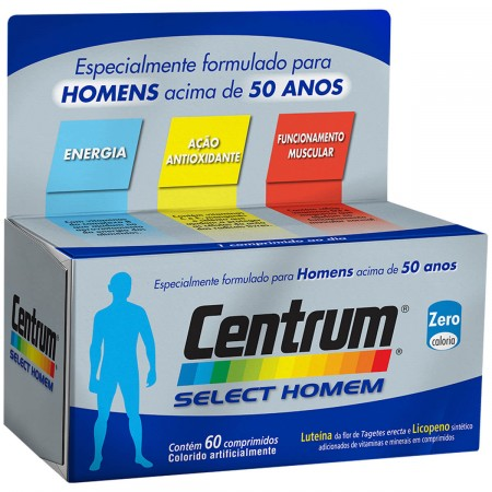 Multivitamínico Centrum Select Homem