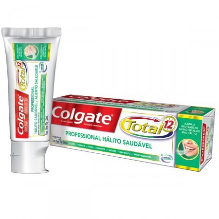 Creme Dental Colgate Total 12 Professional Hálito Saudável