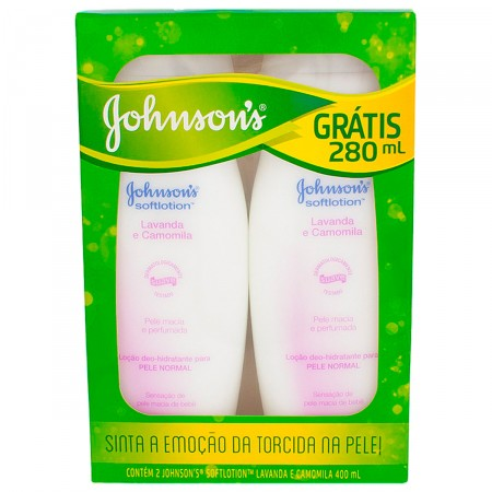 Kit Hidratante Johnson's Lavanda e Camomila