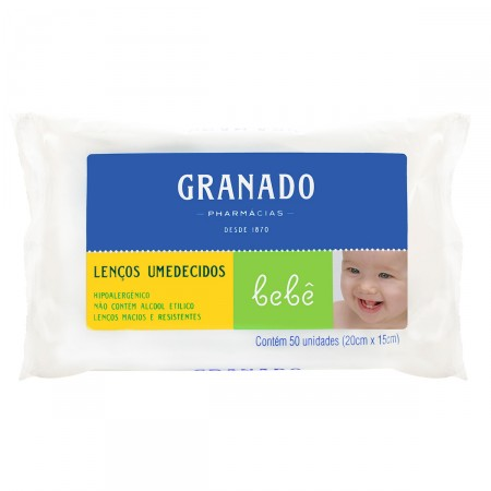 Lenços Umedecidos Granado Bebê