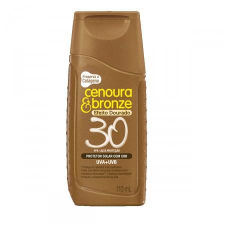 Protetor Solar Cenoura & Bronze Efeito Dourado FPS30