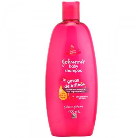 Shampoo Infantil Jhonson's Baby Gotas De Brilho