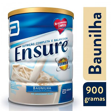 Suplemento Nutricional Ensure Sabor Baunilha