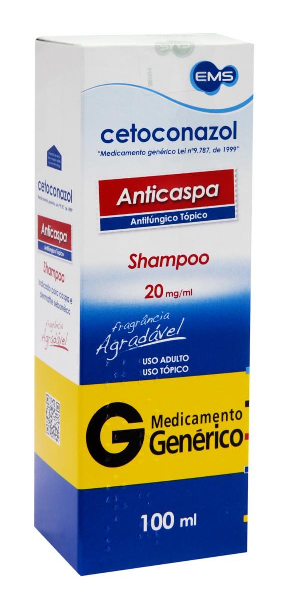 Shampoo Cetoconazol 20mg EMS 100ml