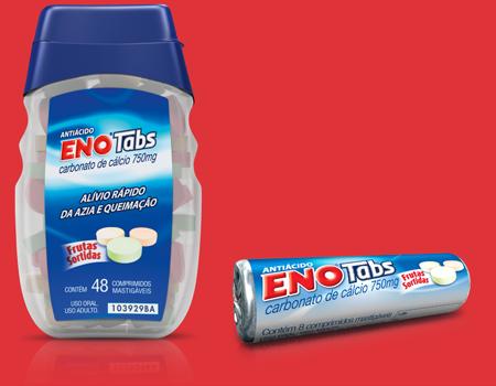 ENO Tabs Frasco 48 comprimidos / ENO Tabs Rolete 8 Comprimidos